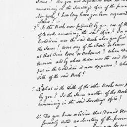 Document, 1769 July n.d.