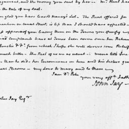 Document, 1821 February 27