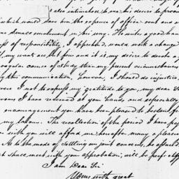Document, 1821 June 13