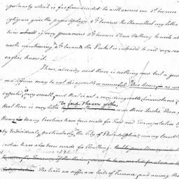 Document, 1781 January 2