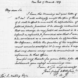 Document, 1819 March 17