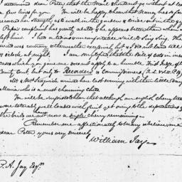 Document, 1820 July 04