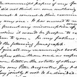 Document, 1830 January 12