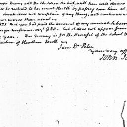 Document, 1822 July 22