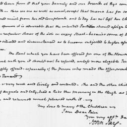 Document, 1822 February 19