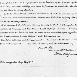 Document, 1822 February 12
