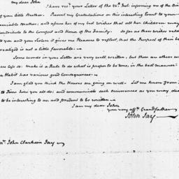 Document, 1821 October 29