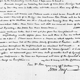 Document, 1819 October 05