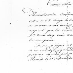 Document, 1781 February 7