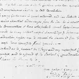 Document, 1796 October 12