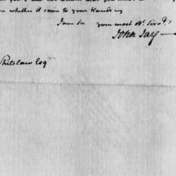 Document, 1806 January 22