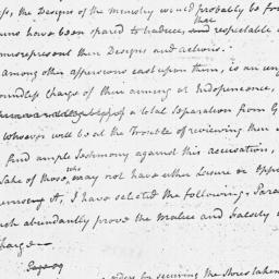 Document, 1775 post Decembe...