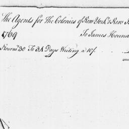 Document, 1769 November 30