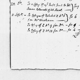 Document, 1769 July 26