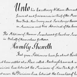Document, 1721 August 14