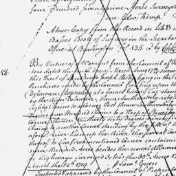 Document, 1719 August 12