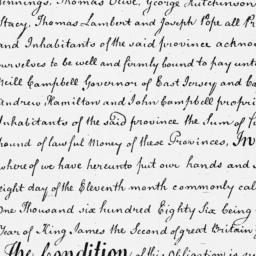 Document, 1686 January 08