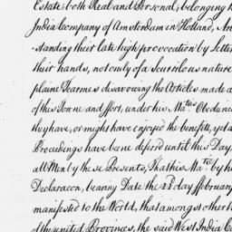 Document, 1665 June 15