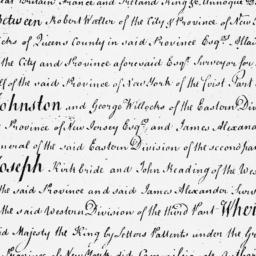 Document, 1719 July 25