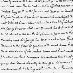 Document, 1672 December 09