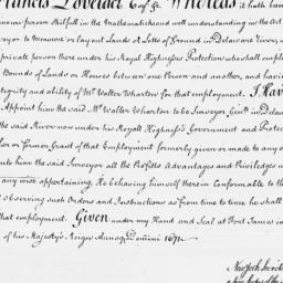 Document, 1671 June 17