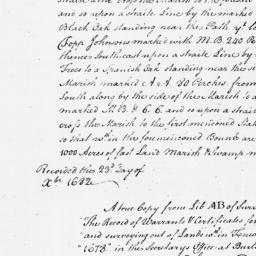 Document, 1682 March 13