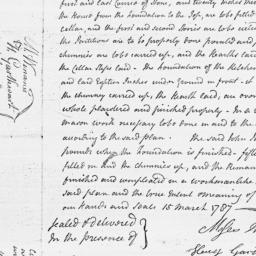 Document, 1787 March 15 and...