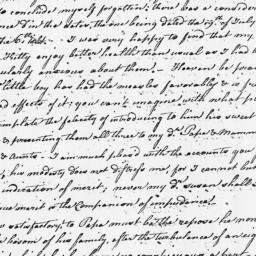Document, 1783 November 22