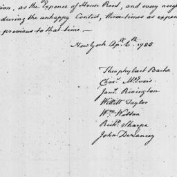 Document, 1785 April 06
