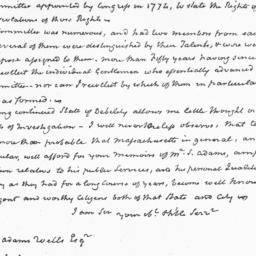 Document, 1827 March 15