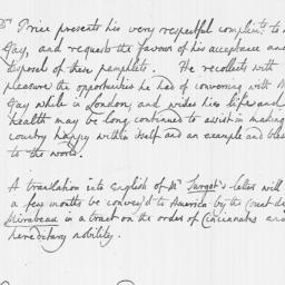 Document, 1784 October 22
