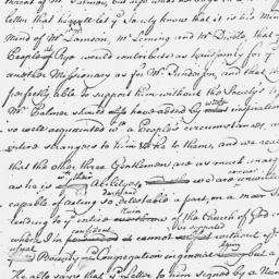 Document, 1763 August 01
