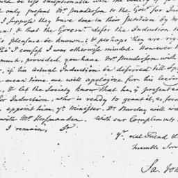 Document, 1762 October 19