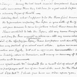 Document, 1819 March 16