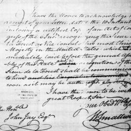 Document, 1786 January 27