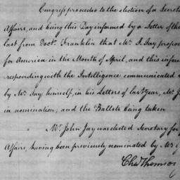 Document, 1785 January 29