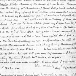 Document, 1814 January 11