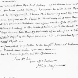 Document, 1819 February 22