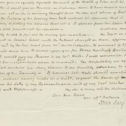 Document, 1821 December 18