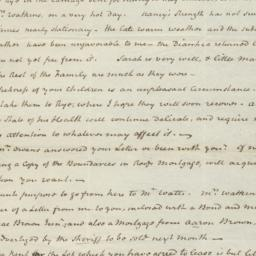 Document, 1820 August 21