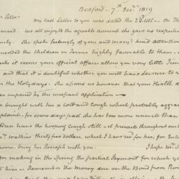 Document, 1819 December 07