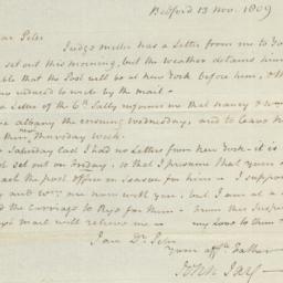 Document, 1809 November 13