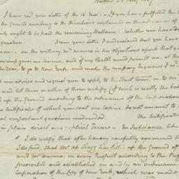 Document, 1807 January 23