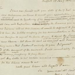 Document, 1804 January 28