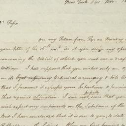 Document, 1813 November 24
