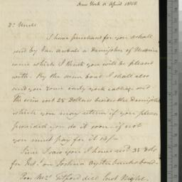 Document, 1810 April 15