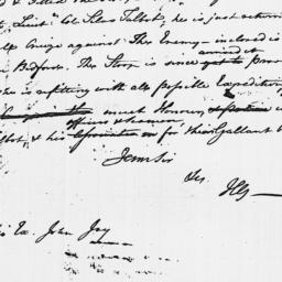Document, 1779 July 20