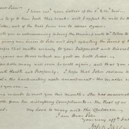 Document, 1822 November 18