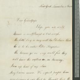 Document, 1821 November 02