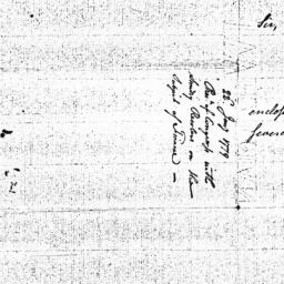Document, 1779 January 22